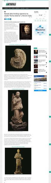 1003 - antrfile.com - Remek dela rimskog vajarstva na izložbi Roma Aeterna u Novom Sadu