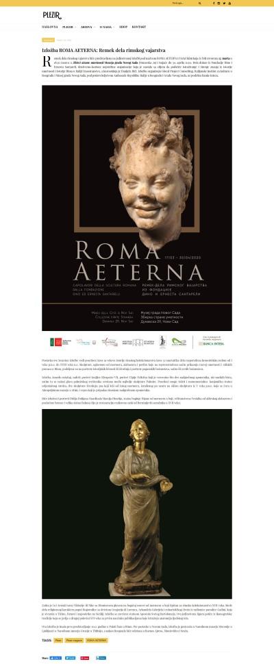1003 - plezirmagazin.net - Izlozba ROMA AETERNA- Remek dela rimskog vajarstva