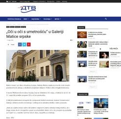 1105 - dunavtelevizija.rs - Oci u oci s umetnoscu u Galeriji Matice srpske