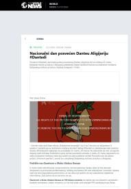 2203 - theworldnews.net - Nacionalni dan posvecen Danteu Aligijeriju
