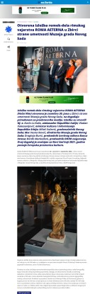 0207 - pressserbia.com - Otvorena izlozba remek dela rimskog vajarstva
