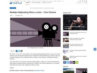 1206 - krstarica.com - Nedelja italijanskog filma u svetu Fare Cinema