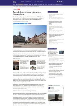 1506 - b92.net - Remek dela rimskog vajarstva u Novom Sadu