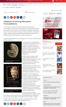 1806 - rts.rs - Skulpture iz vecnog Rima