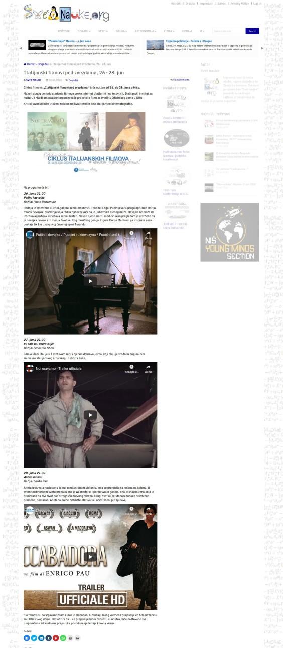 1806 - svetnauke.org - Italijanski Filmovi Pod Zvezdama