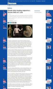2206 - danas.rs - Remek dela rimskog vajarstva u Novom Sadu od 1. jula
