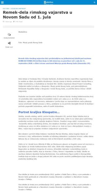 2206 - mediasfera.rs - Remek dela rimskog vajarstva