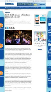 2401 - danas.rs - Od 25. do 28. januara u Narodnom pozoristu Rossi fest