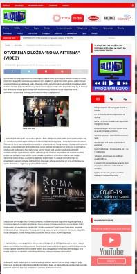3006 - balkantv.rs - Оtvorena izlozba Roma Aeterna