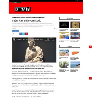 3006 - kanal9tv.com - Vecni Rim u Novom Sadu