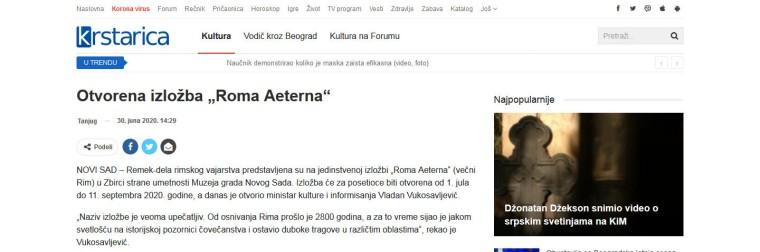 3006 - krstarica.com - Otvorena izlozba Roma Aeterna