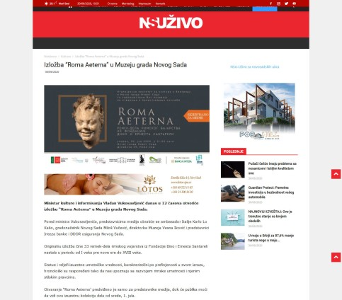 3006 - nsuzivo.rs - Izlozba Roma Aeterna u Muzeju grada Novog Sada