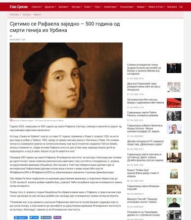 0504-glassrpske.com-setimo-se-rafaela-zajedno-500-godina-od-smrti-genija-iz-urbina