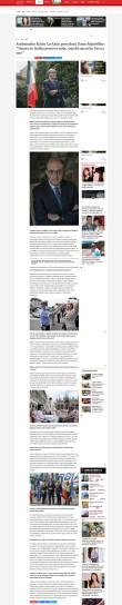 0206 - blic.rs - Ambasador Karlo Lo Kaso povodom Dana Republike