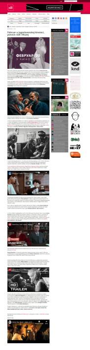 0402 - seecult.org - Februar u Jugoslovenskoj kinoteci, ponovo radi i Muzej