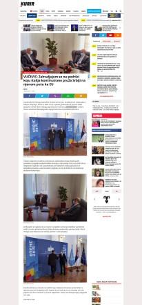 1009 - kurir.rs - Zahvaljujem se na podrsci koju Italija kontinuirano pruza Srbiji na njenom putu ka EU