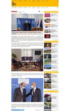 1009 - mojnovisad.com - Ambasador Italije danas u poseti Novom Sadu
