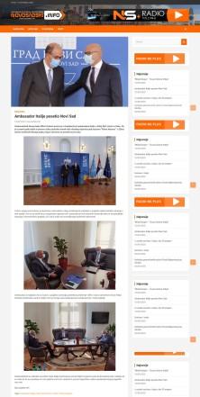 1009 - novosadski.info - Ambasador Italije posetio Novi Sad