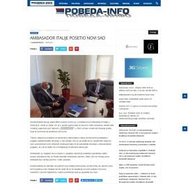1009 - pobeda-info.rs - Ambasador italije posetio novi sad