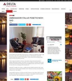 1009 - radiodelta.rs - Ambasador italije posetio novi sad